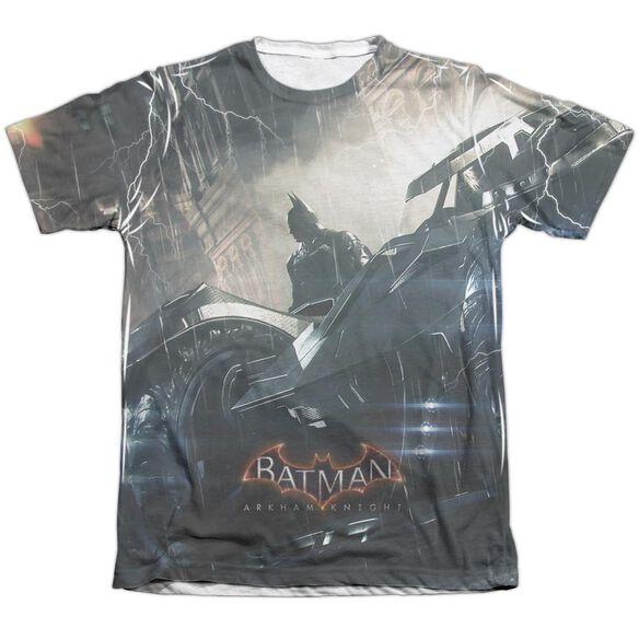 Batman Arkham Knight Into The Night Adult Poly Cotton Short Sleeve Tee T-Shirt