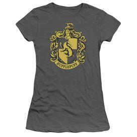 Harry Potter Hufflepuff Crest Short Sleeve Junior Sheer T-Shirt