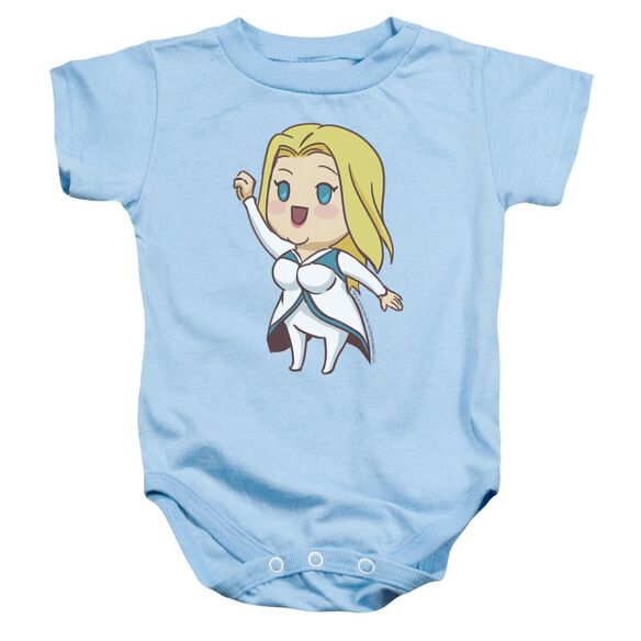 Valiant Faith Chibi Infant Snapsuit Light Blue