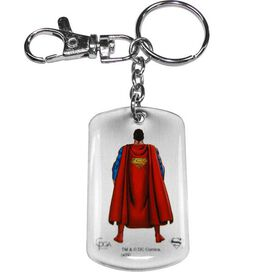 Superman Front Back Keychain