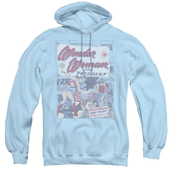 Dc Ww For President - Adult Pull-over Hoodie - Light Blue