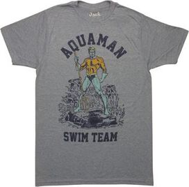Aquaman Swim Team T-Shirt Sheer