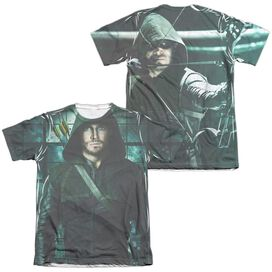 Arrow Two Sides (Front Back Print) Adult Poly Cotton Short Sleeve Tee T-Shirt