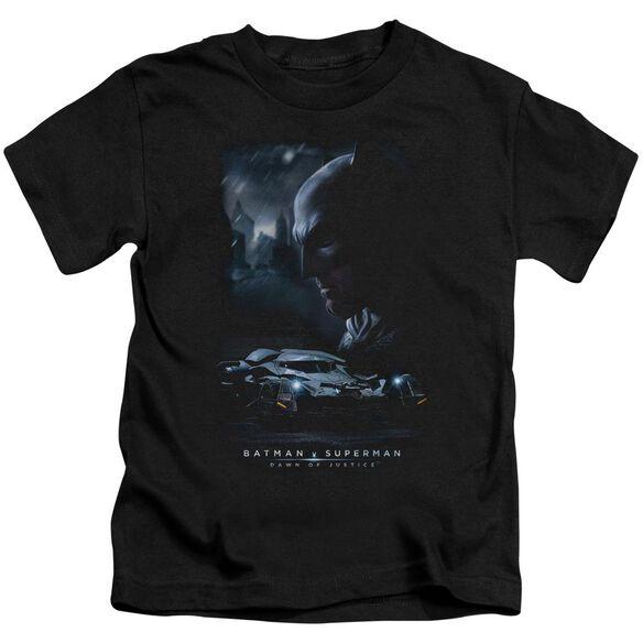 Batman V Superman Gotham Knight Short Sleeve Juvenile Black T-Shirt