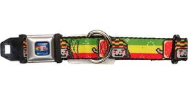 Nyan Cat Rastafarian Pet Collar