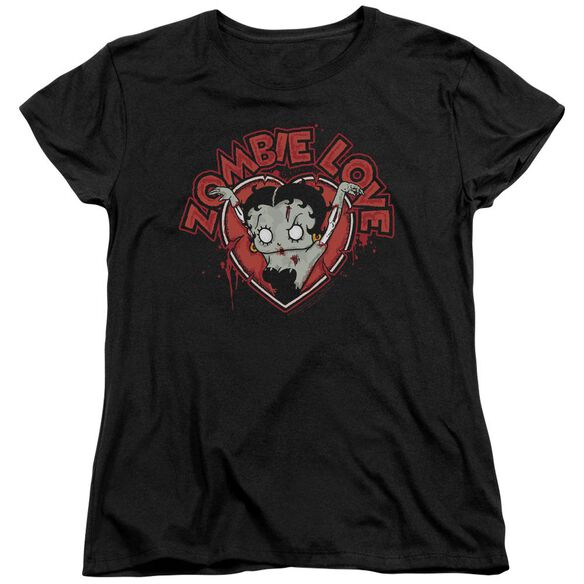 Betty Boop Heart You Forever Short Sleeve Womens Tee T-Shirt