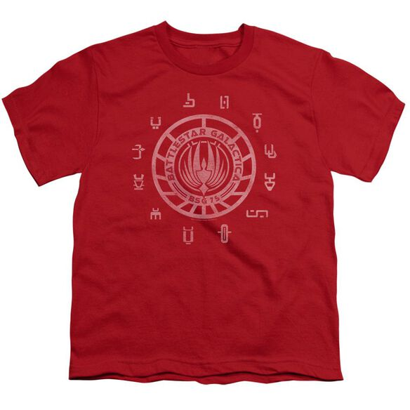 BSG COLONIES - S/S YOUTH 18/1 - RED T-Shirt