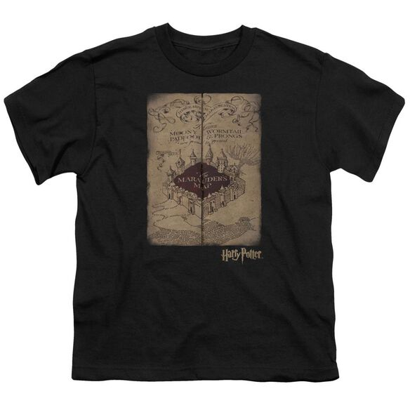 Harry Potter Marauders Map Short Sleeve Youth T-Shirt