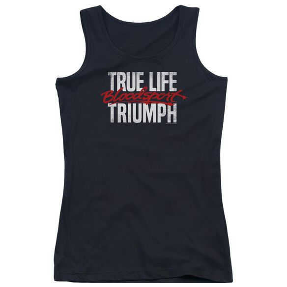 Bloodsport True Story Juniors Tank Top