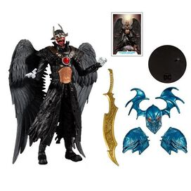 DC Multiverse Collector Wave 2 Batman Who Laughs with Wings (Hawkman) 7-Inch Action Figure