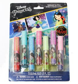 Mulan Flavored Lip Gloss [7-pack]