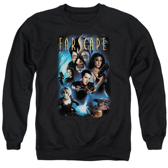 Farscape Comic Cover - Adult Crewneck Sweatshirt - Black
