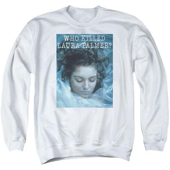 Twin Peaks Who Killed Laura Adult Crewneck Sweatshirt