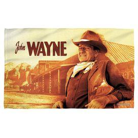 John Wayne Old West Face Hand Towel