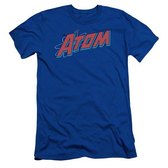 Dc The Atom Short Sleeve Adult Royal T-Shirt