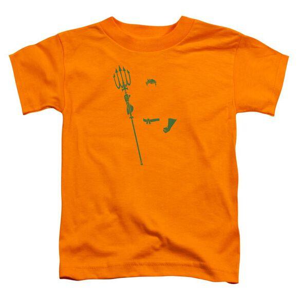 Dc Aqua Min Short Sleeve Toddler Tee Orange T-Shirt