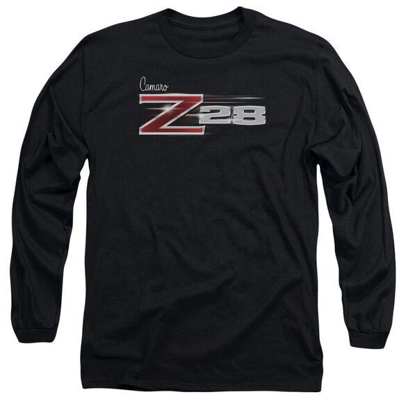 Chevrolet Z28 Logo Long Sleeve Adult T-Shirt