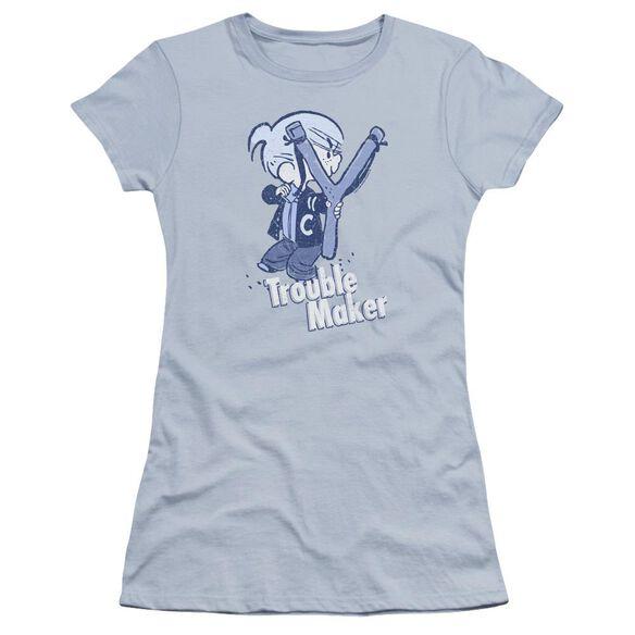 Dennis The Menace Trouble Maker Hbo Short Sleeve Junior Sheer Light T-Shirt