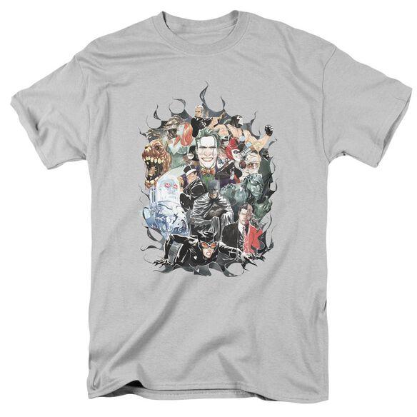 Batman Cape Of Villians Short Sleeve Adult T-Shirt