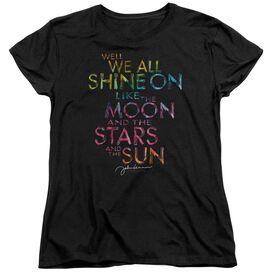 John Lennon All Shine On Short Sleeve Womens Tee T-Shirt
