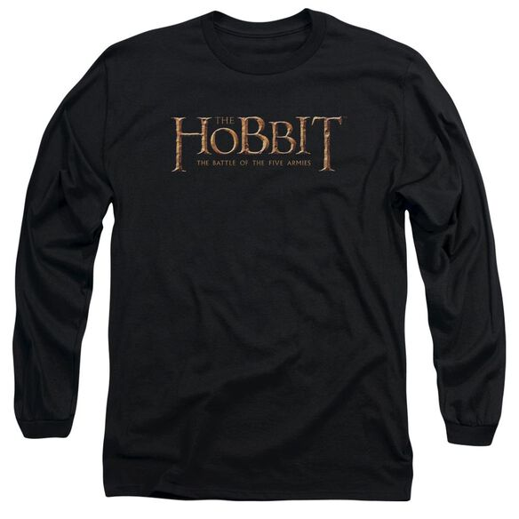 Hobbit Logo Long Sleeve Adult T-Shirt