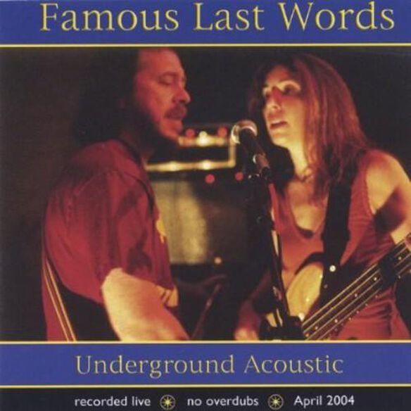 Underground Acoustic