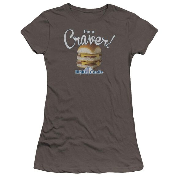White Castle Craver Premium Bella Junior Sheer Jersey
