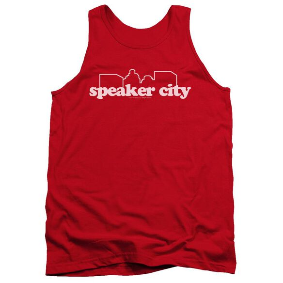 Old School Speaker City Logo Adult Tank