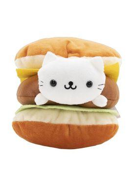 Nyanko Cheeseburger Plush