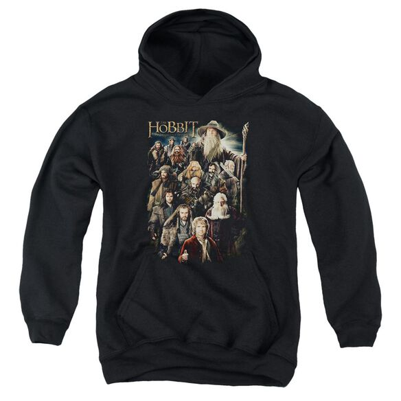 The Hobbit Somber Company Youth Pull Over Hoodie
