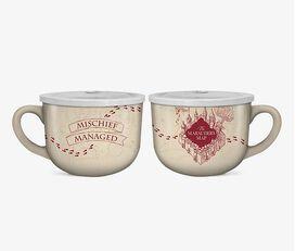 Harry Potter Marauders Map Mischief Managed 24 oz. Soup Mug