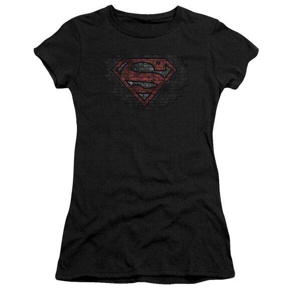 Superman Brick S Premium Bella Junior Sheer Jersey