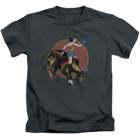 Jla Bull Rider Short Sleeve Juvenile T-Shirt