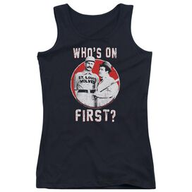 Abbott & Costello First Juniors Tank Top