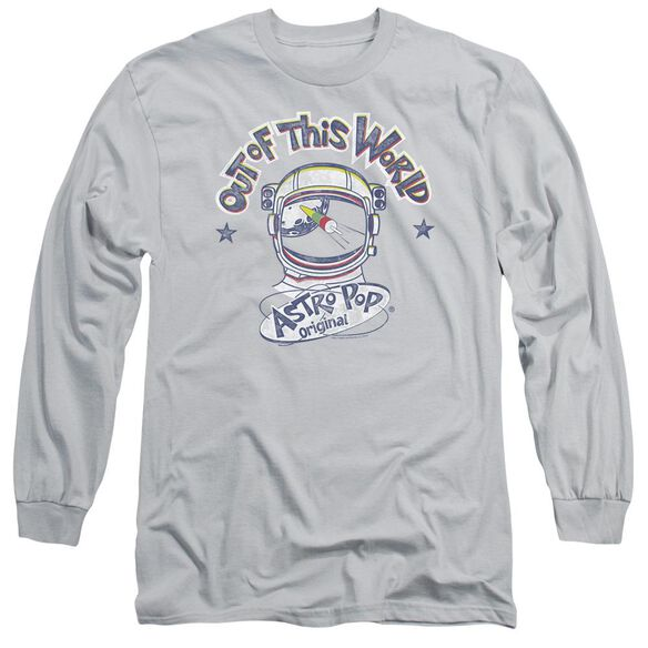 Astro Pop Out Of The World Long Sleeve Adult T-Shirt