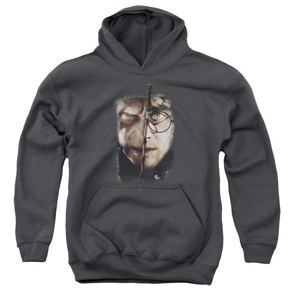 Harry Potter It All Ends Here Youth Pull Over Hoodie