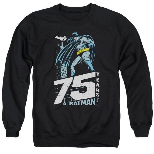 Batman Rooftop Adult Crewneck Sweatshirt