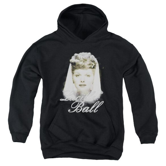 Lucille Ball Glowing Youth Pull Over Hoodie