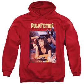 Pulp Fiction Poster Adult Pull Over Hoodie