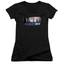 Csi New York Subway Junior V Neck T-Shirt