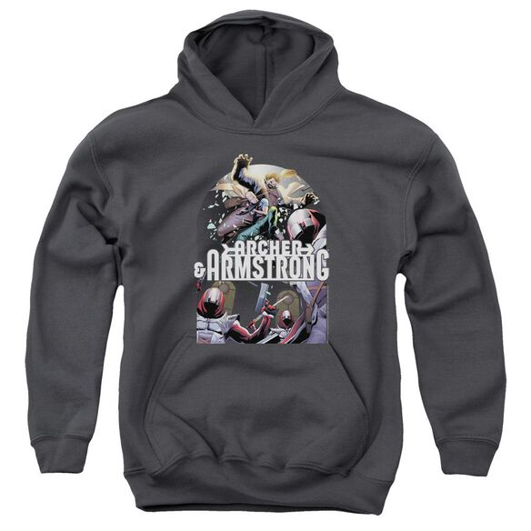 Archer & Armstrong Dropping In Youth Pull Over Hoodie