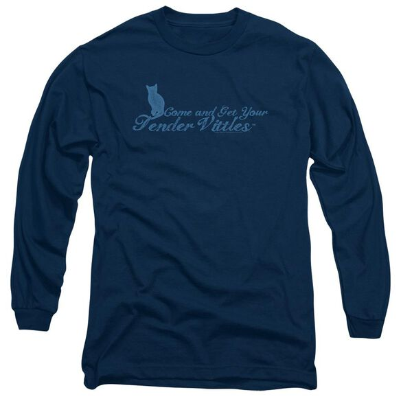 Tender Vittles Come And Get Em Long Sleeve Adult T-Shirt