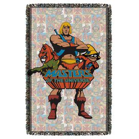 Masters Of The Universe Heroes Woven Throw