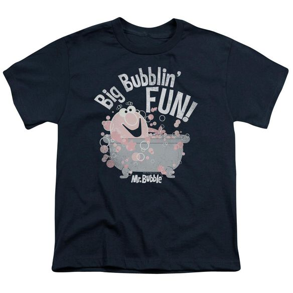 Mr Bubble Big Bubblin Fun Short Sleeve Youth T-Shirt
