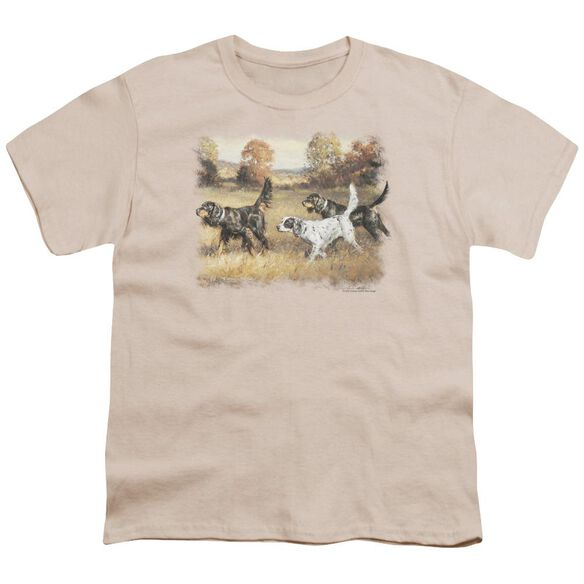 Wildlife Three Setters Short Sleeve Youth T-Shirt