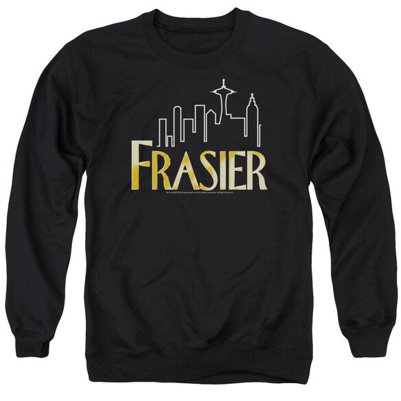 Frasier Frasier Logo Adult Crewneck Sweatshirt