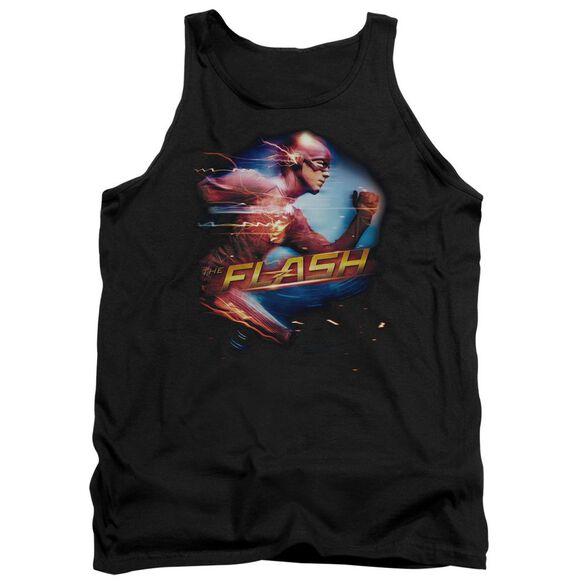 The Flash Fastest Man Adult Tank