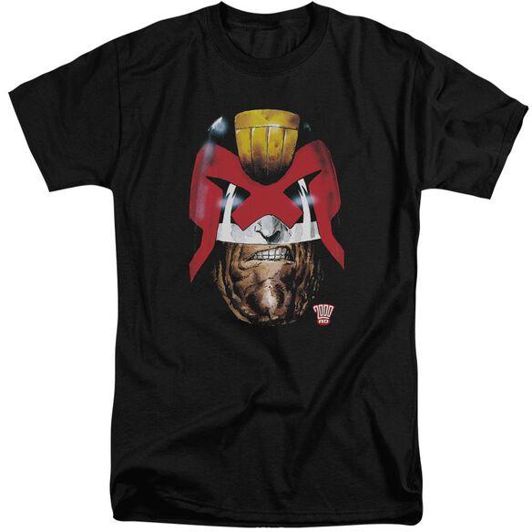 Judge Dredd Dredd's Head Short Sleeve Adult Tall T-Shirt