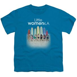 Little Women La Surfs Up Short Sleeve Youth T-Shirt
