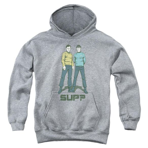Star Trek Sup Youth Pull Over Hoodie